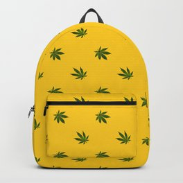 Cannabis Leaf (Mini) - Gold Backpack