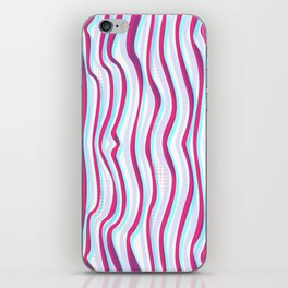 Lines in Motion iPhone Skin