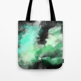 Galaxy Space Pattern Tote Bag