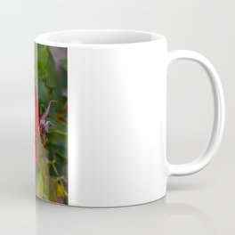 Vibrant Red Flower Coffee Mug