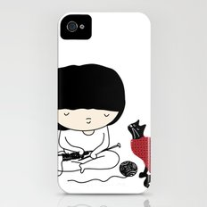 Crazy about wool iPhone (4, 4s) Slim Case