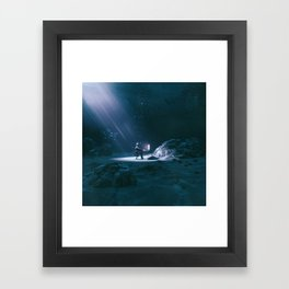 SINK / SWIM (everyday 06.02.17) Framed Art Print