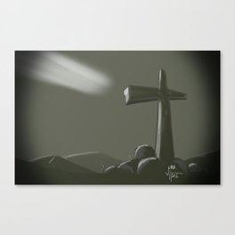 Inspired Cross Canvas Print