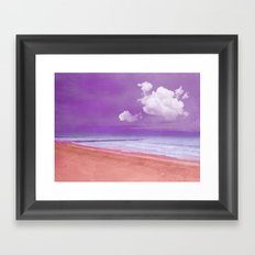 BEACHSCAPE Framed Art Print