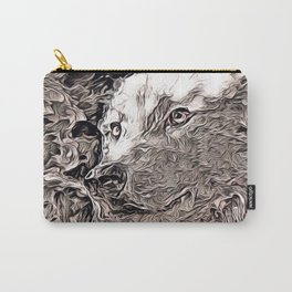 Rustic Style - Wolf Carry-All Pouch