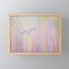 Feathermore Framed Mini Art Print