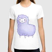 alpaca T-shirts featuring Alpaca by Nurt
