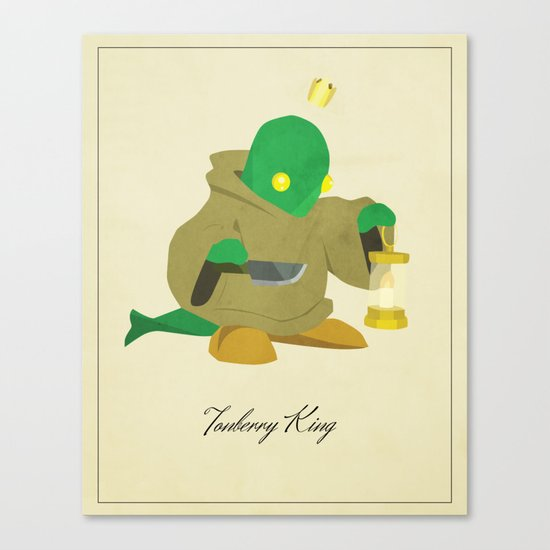 Tonberry King Canvas Print