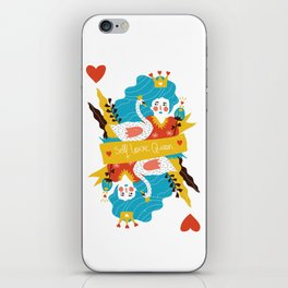 Self love queen iPhone Skin