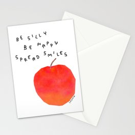Positive Quotes from A Happy Apple Stationery Cards