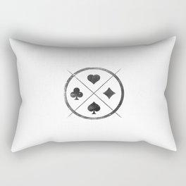 Wild Card Rectangular Pillow