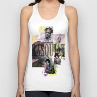 basquiat Tank Tops featuring Basquiat by Andrew Spangler