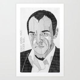 Roger 'Verbal' Kint / Keyser Soze. Art Print