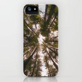 Redwood Fisheye iPhone Case