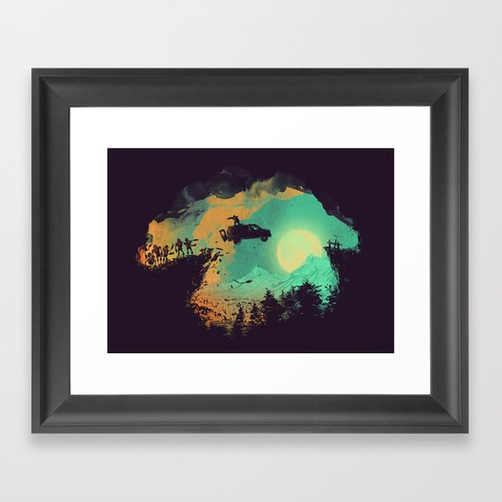 Leap of Faith Framed Art Print