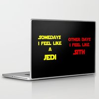 sith Laptop & iPad Skins featuring Feel Like Sith by Kramcox
