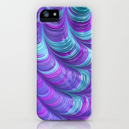 Jewel Tone Abstract iPhone Case