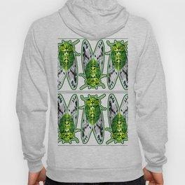 Emerald Cicadas Hoody