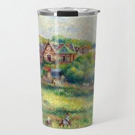 """Pierre-Auguste Renoir """"Le châlet de Blanche Pierson à Pourville"""" Travel Mug"""