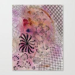 Shrink Pink Canvas Print