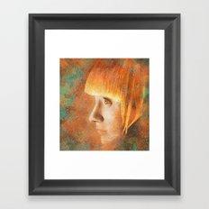 Citric Burn Framed Art Print