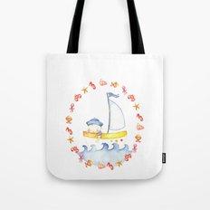 Baby sailor Tote Bag