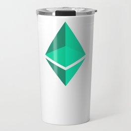 Ethereum Green Logo Travel Mug