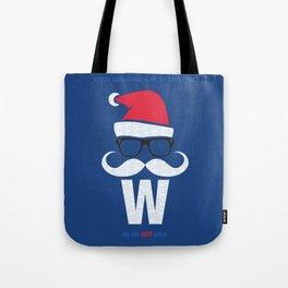 Fly the W Santa Tote Bag
