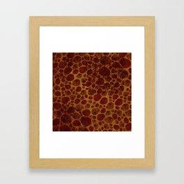 """""""Giraffe Cave Painting"""" Framed Art Print"""