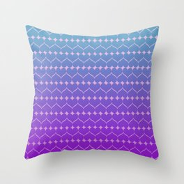 Heart of colors Throw Pillow
