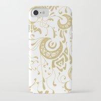 art nouveau iPhone & iPod Cases featuring Nouveau by CyberneticGhost
