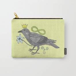 Crowns and Birds, Swords and Things Carry-All Pouch