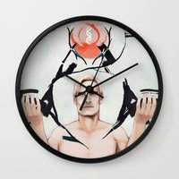 prometheus Wall Clocks featuring David 8 by Setael