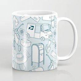 Tools of the Postal Worker Coffee Mug