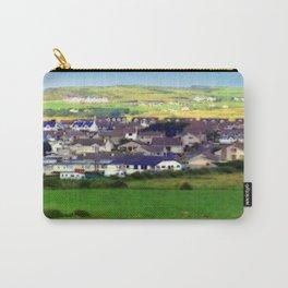 Landscape | Irish Town on Hill | Pop Art | Ireland | Nadia Bonello Carry-All Pouch