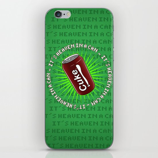 It's Heaven in a Can iPhone & iPod Skin