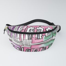 Nottinghill houses london  Fanny Pack
