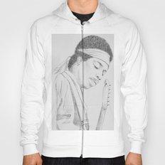 Hendrix print Hoody