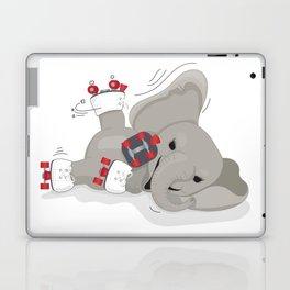 Elephant on skates Laptop & iPad Skin