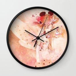 Fée Hérissonne Wall Clock