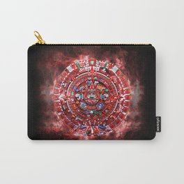 Aztec Calender Carry-All Pouch
