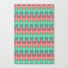 Summer Pattern 3 (Watermelon) Canvas Print