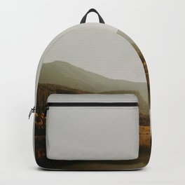 The Faded Forest on a River (Color) Backpack