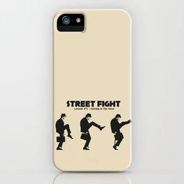 Street Fight iPhone Case