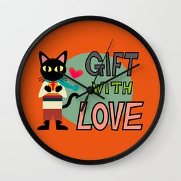 GIFT FOR YOU Wall Clock
