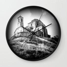 Spanish Iglesia Wall Clock