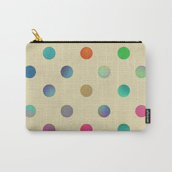 Sweet Dots Carry-All Pouch