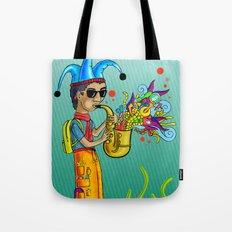 SaxoFunk Tote Bag