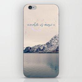 Winter is Magic iPhone Skin