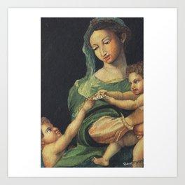 Roman Art - in Watercolor Art Print